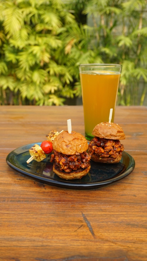 Beer Garden Sliders