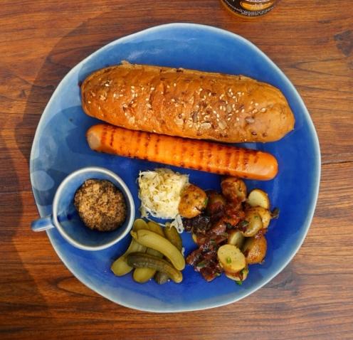 German Sausage Platter