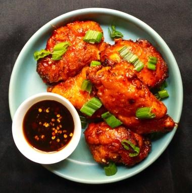 Crispy Fried Glazed Chicken