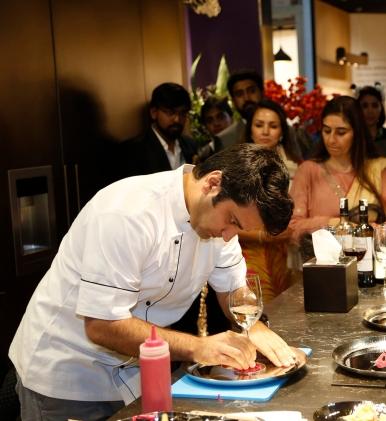 Chef Kunal Kapur at Arttd'inox