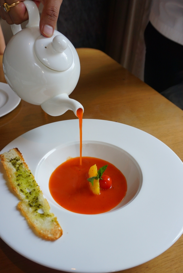 Tomato Clementine Soup