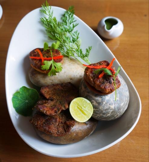 Galauti kebab and Pathar ka Meat