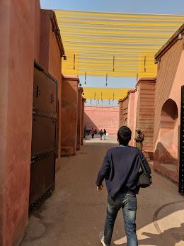 Entering Gobindgarh Fort