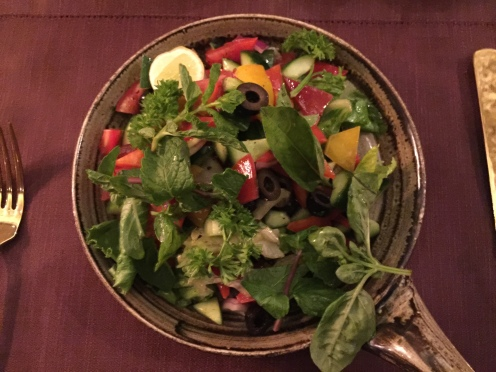Chef's special salad at Zarin