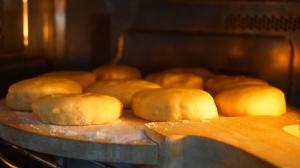 Regular doughnuts resting