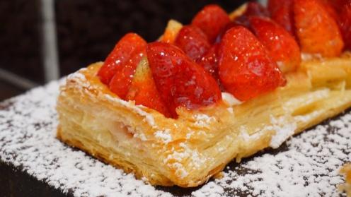 Strawberry PuffTart