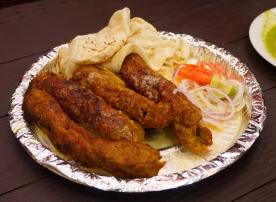 Qureshi's Mutton Seekh Kebabs
