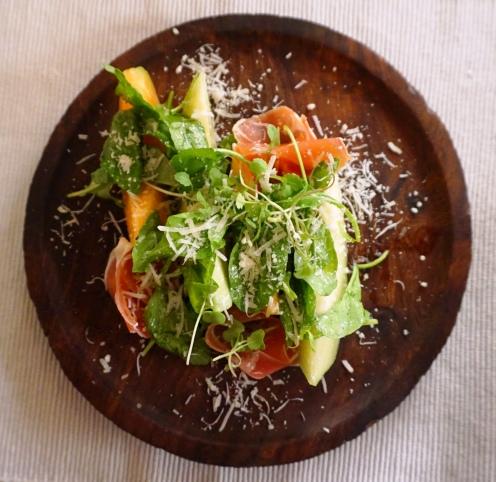 Smoked Melon Salad