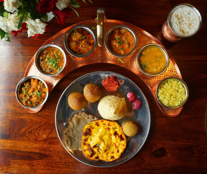 The Rajasthani Thali