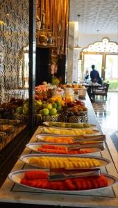 Fresh fruits counter