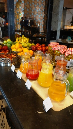 Fresh Juices Counter