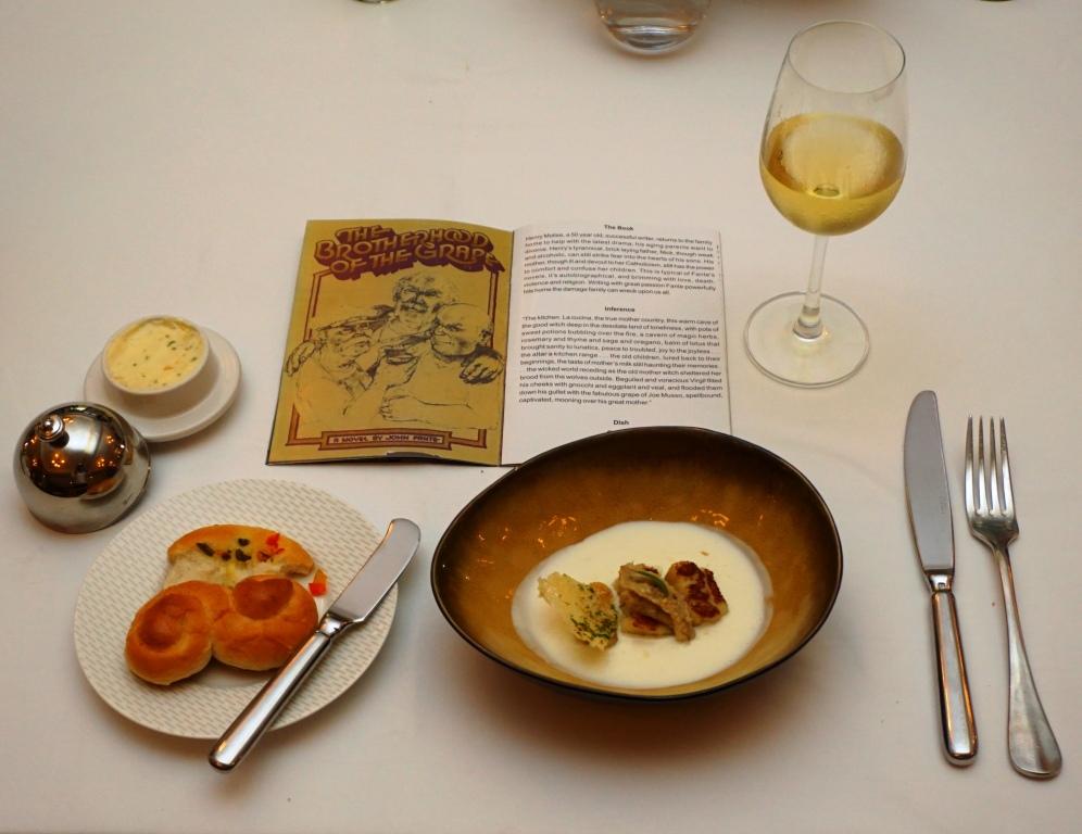 Dish for John Fante's The Brotherhood of the Grape