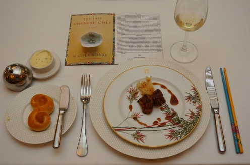 Dish for Nicole Mones' The Last Chinese Chef