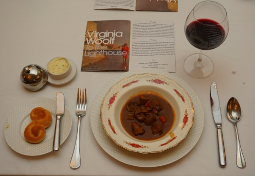 Dish for Virginia Woolf's To The Lighthouse
