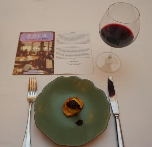 Dish for Emile Zola's Le Ventre de Paris