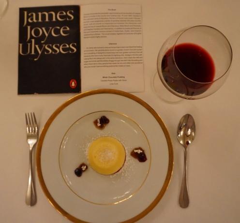 Dessert for James Joyce's Ulysses