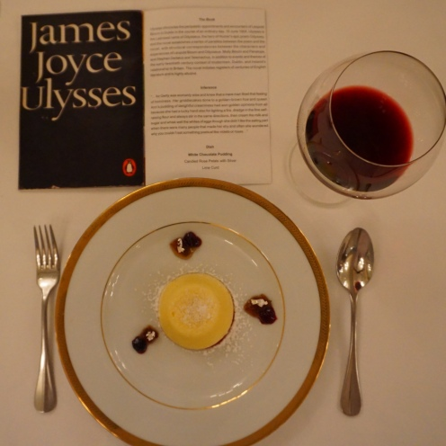 Dessert for James Joyce's Ulysses