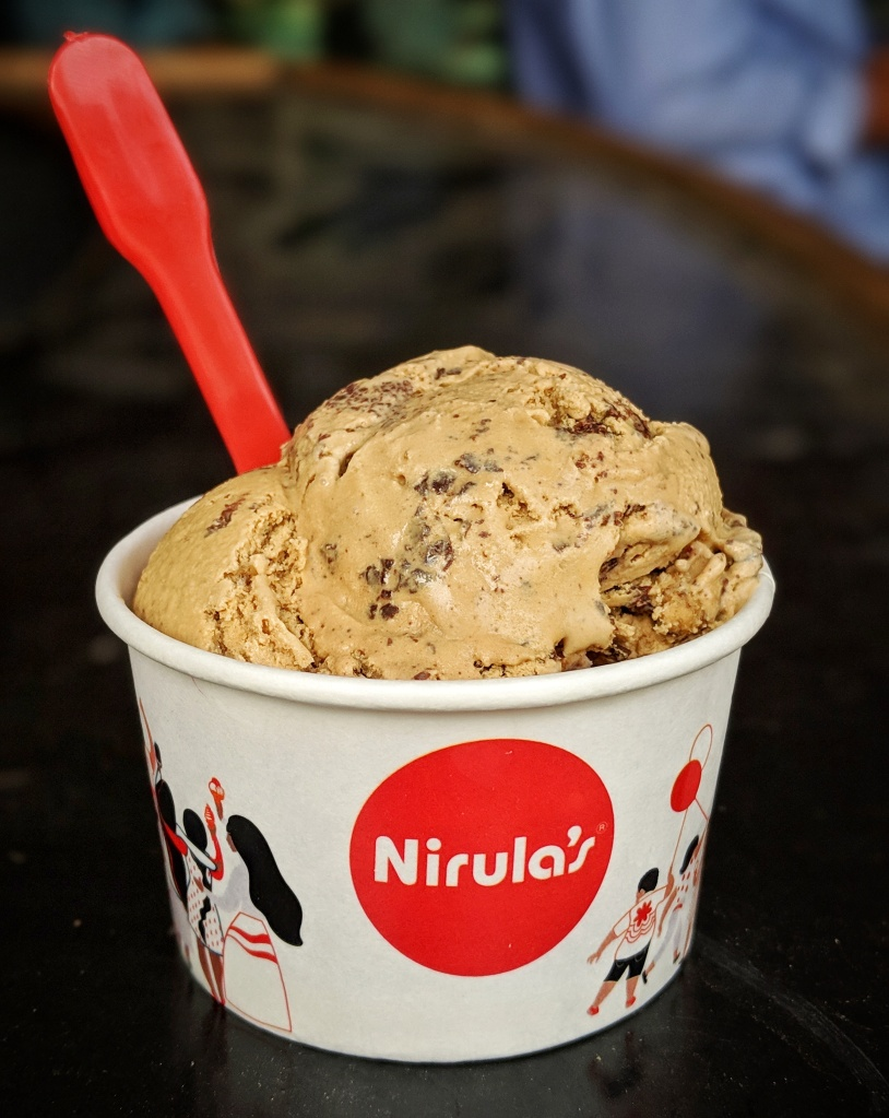 Coffee Fudge Ice Cream by Nirulas