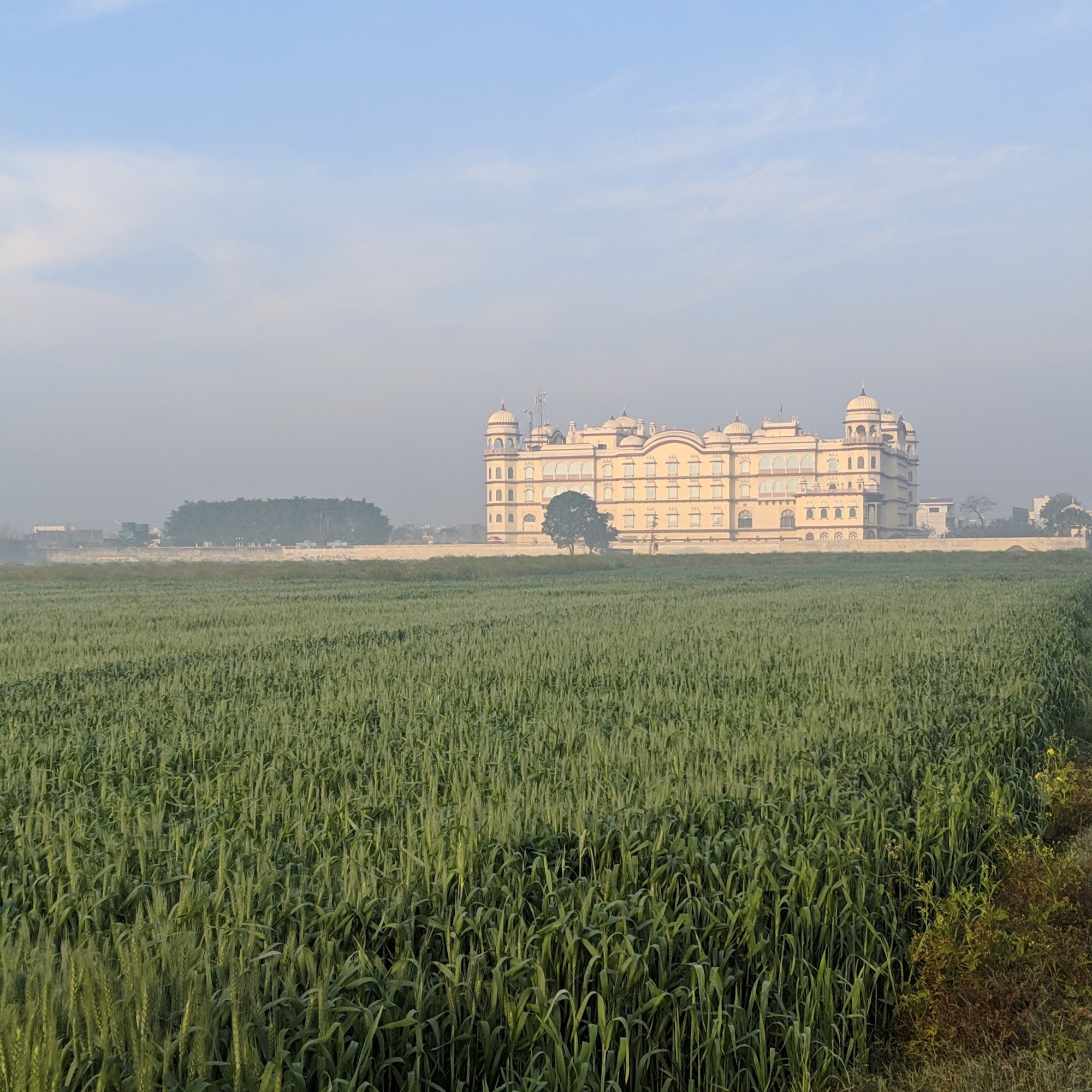 Noor mahal view from the farm