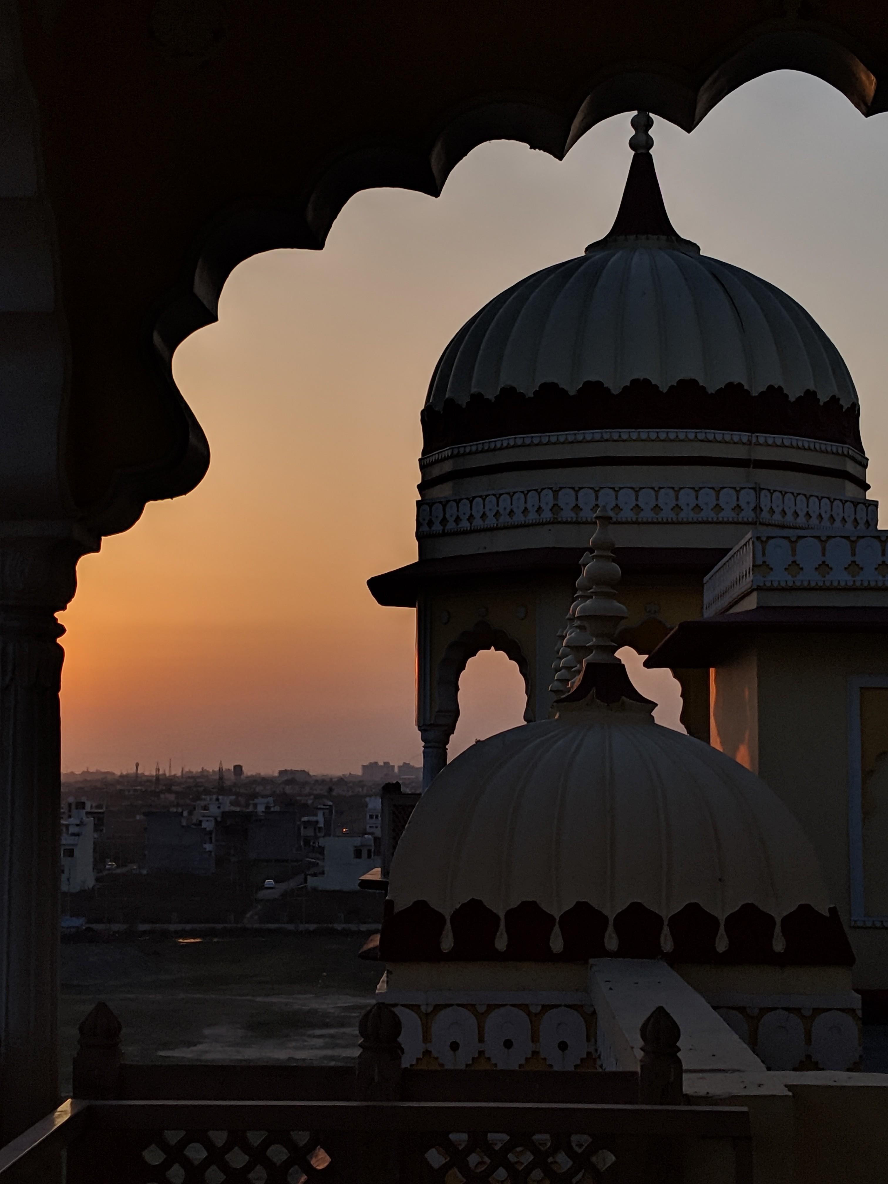Sunset at Noor Mahal