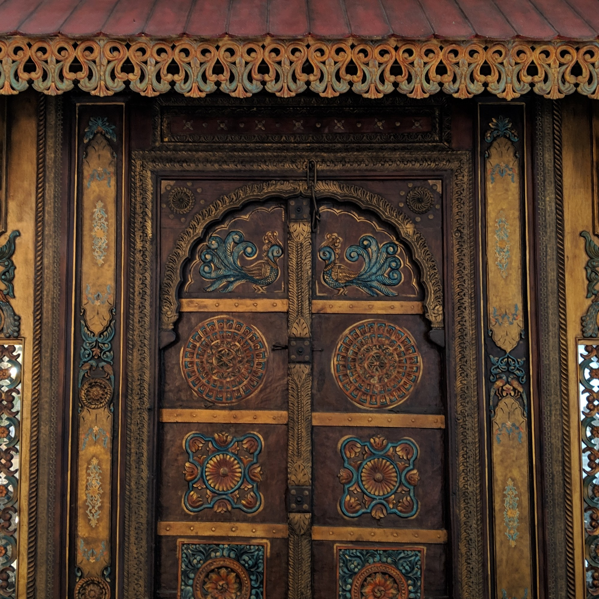 100 year-old door in the lobby