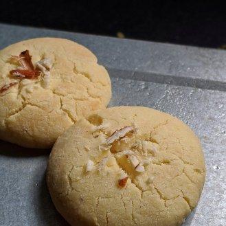 Nankhatai Cookies Baked