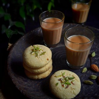 Homemade Nankhatai Biscuits | No oven