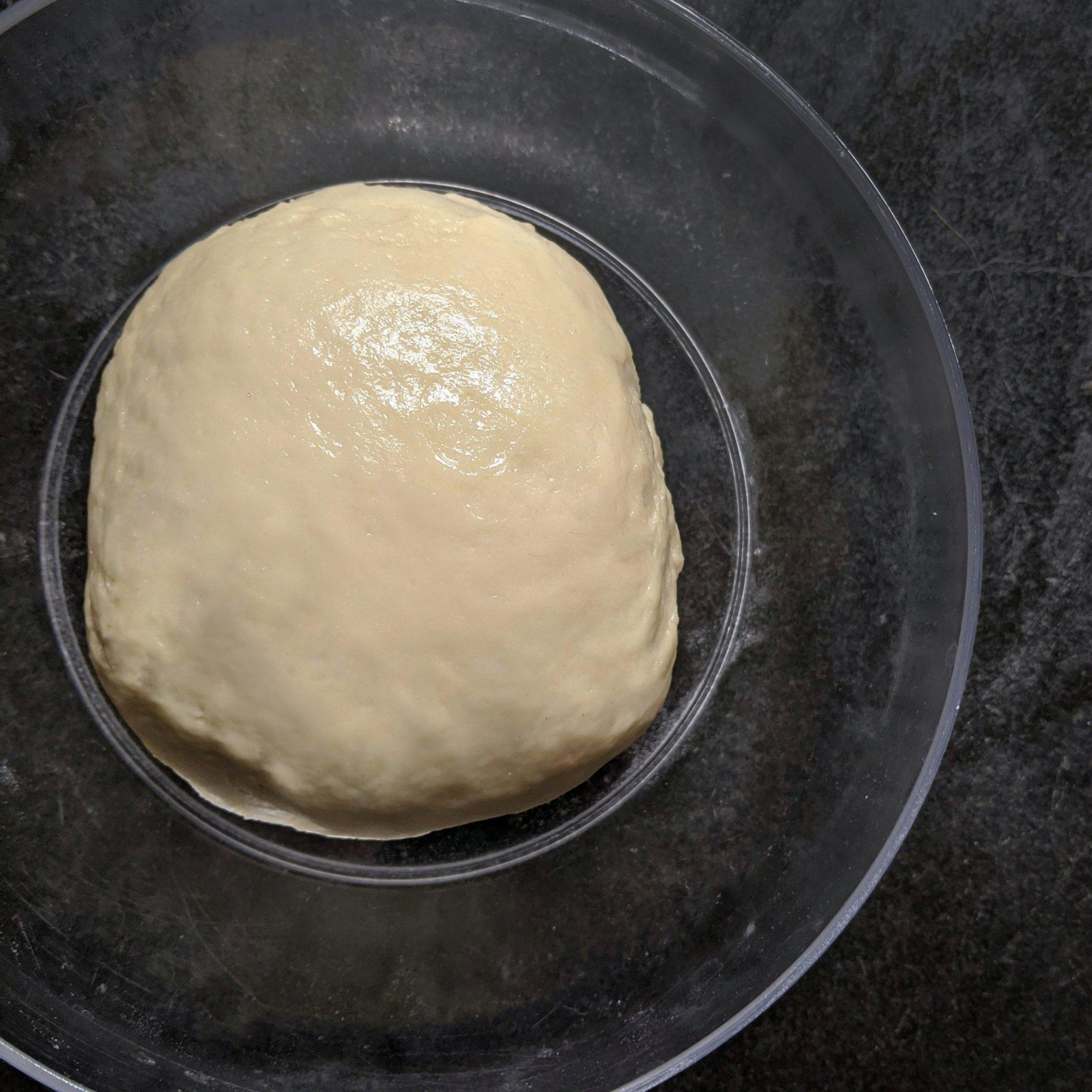 Knead till a smooth dough. Apply oil