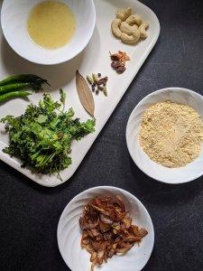 Ingredients for blending