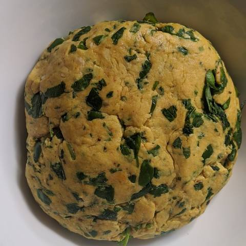 Methi thepla dough